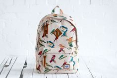 """Herschel Supply Co. 2013 Spring Bad Hills """"Bird Print"""" Collection: Herschel Supply Co. Herschel Supply Co, My Bags, Purses And Bags, Cute Backpacks, Herschel Heritage Backpack, Herschel Backpack, Bird Prints, Backpack Bags, Laptop Backpack"""