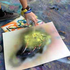 How to Safely Use Spray Paint with Your Students | The Art of Ed