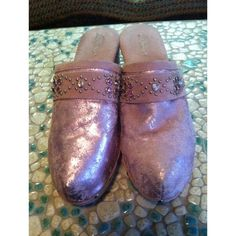 Bridget Distressed Suede Clogs Bridget distressed suede clogs. Please note- the suede on these clogs are distressed intentionally and were bought this way.   The clogs do have a bit of wear as shown but still in great condition!  Size 9 Bridget Shoes Mules & Clogs
