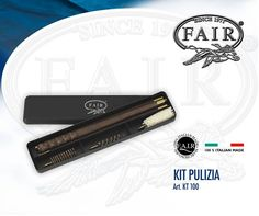 Kit di pulizia armi KT 100 composto da bacchetta con manico anatomico, in legno verniciato (3 pezzi) + 3 scovoli. Disponibile in cal.12 e 20 qui http://www.fair-store.com/index.php?lang=it  KT 100 Gun-cleaning set, the set comprehends a stick, an anatomic handle in varnished wood (3 pieces) + 3 bottle brushes. Available in 12 and 20 ga. here http://www.fair-store.com/index.php?lang=en&Itemid=567