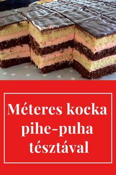 Ebből még az is repetázik, aki vigyáz az alakjára. Hungarian Desserts, Hungarian Recipes, Smoothie Fruit, Cookie Recipes, Dessert Recipes, Brownie Cupcakes, Homemade Cookies, Winter Food, Sweet Recipes