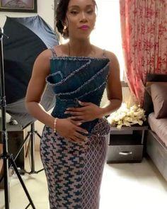 Short African Dresses, Latest African Fashion Dresses, African Print Fashion, African Wedding Attire, African Attire, Mode Batik, African Fashion Traditional, Kente Dress, Beautiful Dress Designs