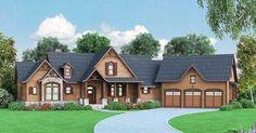 Plan 12261JL: Luxurious Lodge-Like Living