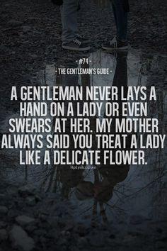 Make her feel like a delicate flower.