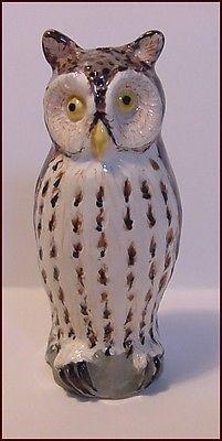 Stuart Bass Long Eared OWL Pie Bird Funnel Vent * 2010 Owl Collection