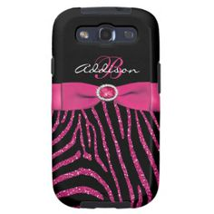=>>Save on          	Monogram Pink, Black Glitter Zebra Galaxy S3 Samsung Galaxy SIII Cover           	Monogram Pink, Black Glitter Zebra Galaxy S3 Samsung Galaxy SIII Cover so please read the important details before your purchasing anyway here is the best buyDeals          	Monogram Pink, Bl...Cleck Hot Deals >>> http://www.zazzle.com/monogram_pink_black_glitter_zebra_galaxy_s3_case-179378717714019688?rf=238627982471231924&zbar=1&tc=terrest