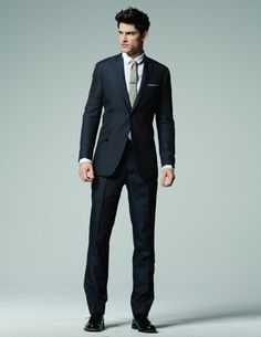 The Wool Navy Suit
