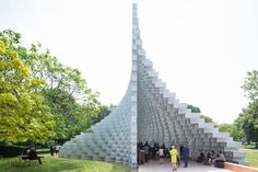 BIG's 2016 Serpentine Pavilion Opens Alongside 4 Summerhouses