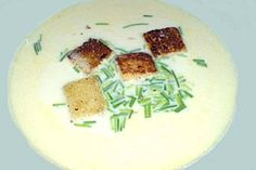 knoblauchcreme suppe