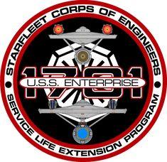 USS Enterprise Refit S.L.E.P. Insignia by viperaviator.deviantart.com on @DeviantArt