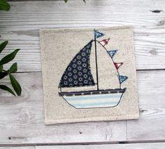 Sail Boat Coaster, Nautical Gift