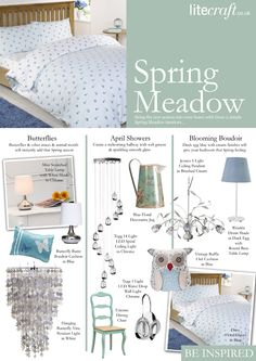 Spring Meadow Inspired Lighting and accessories