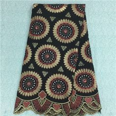 African Embroidery Lace Fabric LKLACE4565-5  https://www.lacekingdom.com/      #embroiderylace