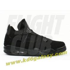 low priced 00105 9d7a8 Air Jordan 4 retro black cat black black light graphite