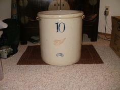 10gal Redwing Stoneware Crock | eBay