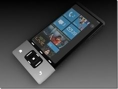 The new concept windows 7 phone