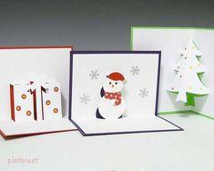 Kirigami karácsonyi képeslapok egyszerűen - Art-Export webáruház