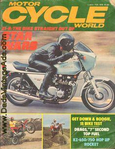 Road Tests: Z1R Kawasaki 1000 Cafe Spacecraft - in 1978 Kawasaki's ready for war; Yamaha XS500-E; BMW R80/7; Honda XL350; Features: Werra Fuel Economy Run; Kurt Liebmann - still racing after all these years; First-ever World Roadrace Champ, Steve Baker; Winston World Finals - Top/Fuel 7 second