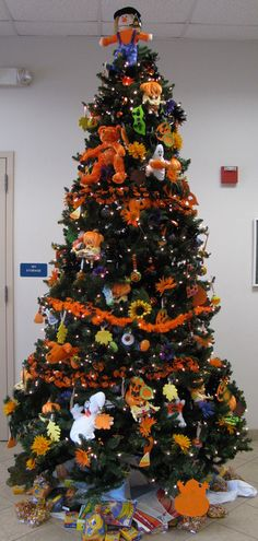 image detail for we keep our christmas trees up year round and decorate them for - Halloween Christmas Decorations