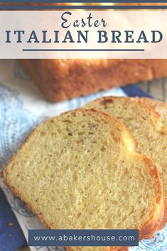 Italian Easter Cheese Bread deserves to be made more often then once a year. Make it the centerpiece of your Easter table. Italian Cheese Bread, Italian Easter Bread, Fun Baking Recipes, Quick Bread Recipes, Vegan Recipes, Dessert Recipes, Easter Dinner Recipes, Easter Desserts, Easter Food