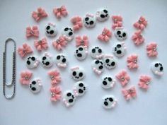 Nail Art 3d 40 Piece Pink Skull & BOW/RHINESTONE for Nails, Cellphones 1.1cm by 3d nail art. $6.99. ***  Nail Art 3d 40 Piece Pink Skull & BOW/RHINESTONE for Nails, Cellphones 1.1cm ***Material : Resin ***Quantity : 40 Pieces ( 20 skull & 20 Bow)