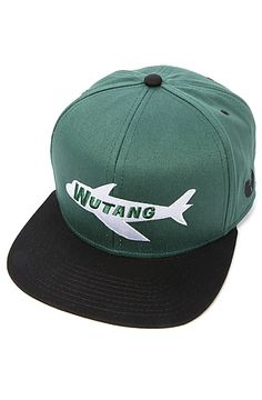 The Wu Jersey Hat in Green and Black by Wutang Brand Limited
