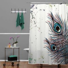 If You Like Peacock Shower Curtain Might Love These Ideas