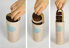 Inspiração de embalagens para cookies