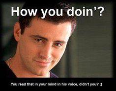 I sure did.