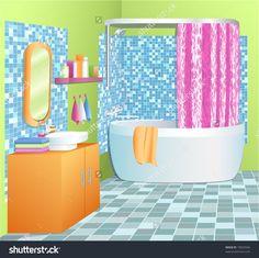 stock-vector-bathroom-vector-illustration-73929346.jpg (1500×1498)
