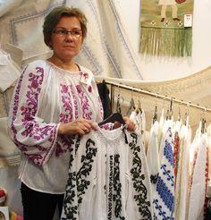 Modele ii romanesti -0728925240 Kimono Top, Costumes, Romania, Tops, Women, Fashion, Shopping, Embroidery, Moda