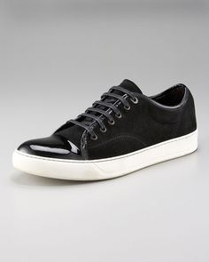 Lanvin -- Patent-Toe Sneaker  Adore it, have it, haven't worn it yet though...need a special occasion