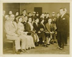 Buster Keaton !931 - Imperial Japanese visit to MGM during filming of Sidewalks of New York
