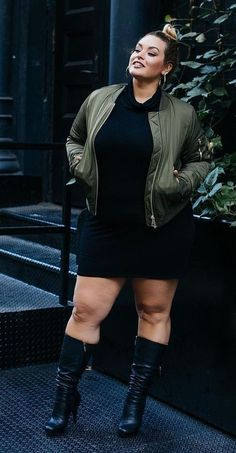 Curvy Girl Fashion Outfits, Plus sized clothing, fashion tips, plus size fall wardrobe and refashion. Fall and Autmn Fashion Outfits Trends for Plus Size. Mode Club, Xl Mode, Curvy Outfits, Girl Outfits, Fashion Outfits, Fashion Ideas, Spring Outfits, Curvy Girl Fashion, Look Fashion