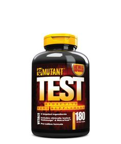 Mutant Test Natural Testosterone Booster with a Powerful Anabolic Formula Developed to Boost Testosterone Levels, Fast Pro-Caliber Formula, 180 Capsules Best Testosterone, Testosterone Booster, Testosterone Levels, Sports Nutrition, Fitness Nutrition, Health And Nutrition, Fitness Tips, Fitness Motivation, Bodybuilding Supplements