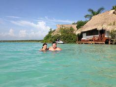 Paraísos de México: Laguna de bacalar
