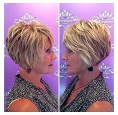 Short Hairstyles For Women, Hairstyles Haircuts, Short Haircuts, Short Layered Hairstyles, Thick Hairstyles, Short Layered Bob Haircuts, Braided Hairstyles, Layered Haircuts For Women, Bobs Blondes