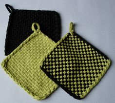 talapp -- potholder and other simple weaving projects (free, in swedish)
