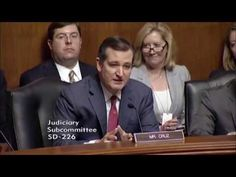 Sen. Cruz's Statement at Hearing on Obama Admin's Willful Blindness to R...