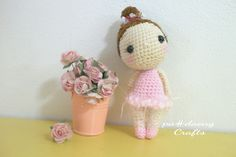 cute crochetdoll