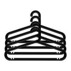 BAGIS Hanger, indoor/outdoor, black - - - IKEA