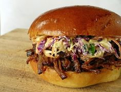 5 STAR BBQ BEEF SANDWICH WITH BLUE CHEESE COLESLAW – BBQ Association of America
