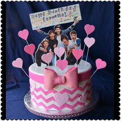 Simply Sweet by Helen- One Direction Cake