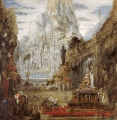 The Triumph of Alexander the Great : Gustave Moreau : Symbolism : history painting - Oil Painting Reproductions Famous Artists, Great Artists, Alexandre Le Grand, Art Sur Toile, Oil Painting Gallery, Great Paintings, Oil Paintings, Painting People, Alexander The Great