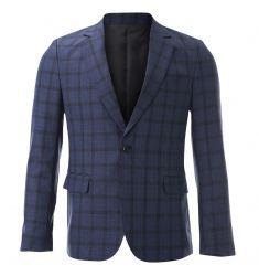 FLATSEVEN Mens Slim Casual Waffle Fabric Blazer Jacket (BJ105) - Blazers…
