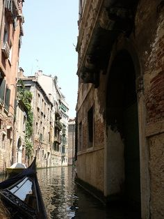 Venice - Gondola ride - Rio di Santa Maria Formosa