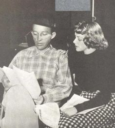 Bing Crosby And Rosemary Clooney--i'd just like to be in the same room while they talked....i don't even care if they sang. love them