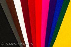 Diepe kleuren: gemengd met zwart