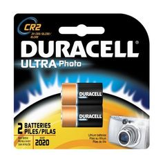 Duracell Ultra Batteries, Lithium Photo, 3V, 2 ct. by Duracell. $8.75. M3 Technology. The most powerful Duracell battery. Excellent performance in extreme temperatures.
