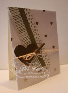 Flash Embellishment using Envelope Punch Board with Deb Valder